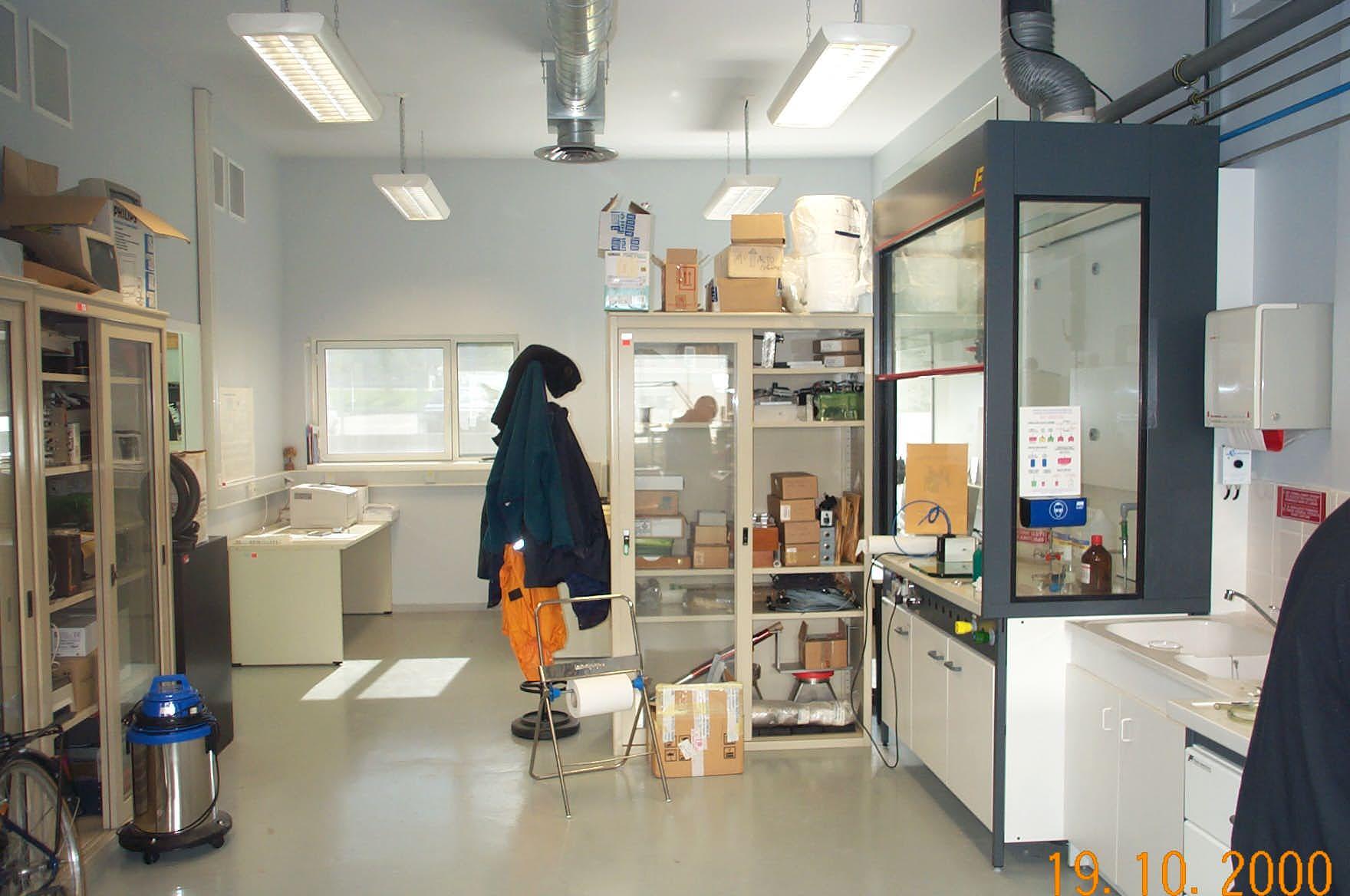 Sample Preparation Laboratory