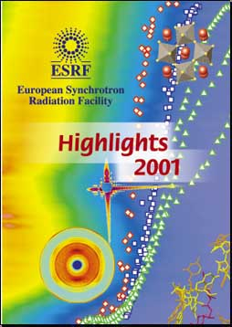 ESRF Highlights 20001cover