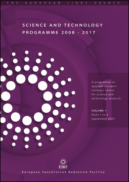 ESRF Science and Technology Programme 2008-2017