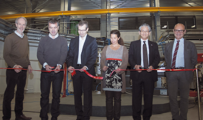 Inauguration ceremony at beamline ID32
