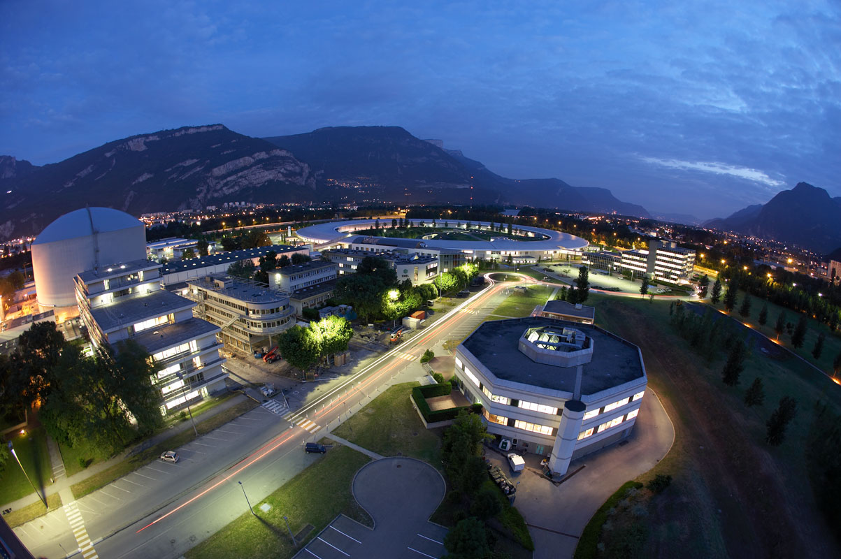 The ESRF synchrotron is located on the EPN Science Campus in Grenoble (Credit: ESRF/P. Ginter).