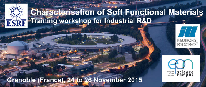soft functional matter - training workshop for industry