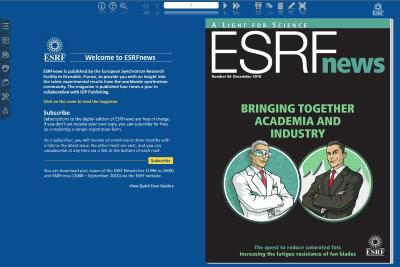 ESRF news in digital reader Dec 2010