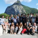 Students and organisers of the Summer Programme. Credit: ILL/S. Claisse.