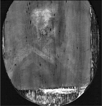 K-edge absorption imaging of the painting Old Man with a Beard