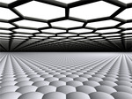Graphene grown on top of a metal surface shows strong internal bonding, but only weak interaction with the substrate.